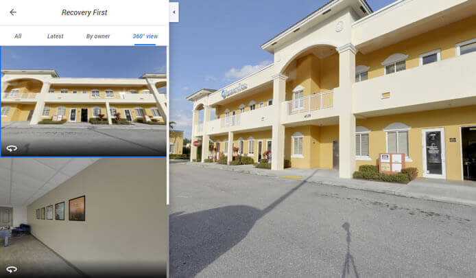 virtual 360 tour of recovery first addiction treatment center